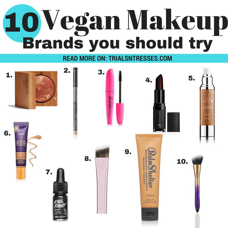 10 Vegan Makeup Brands You Should Try
